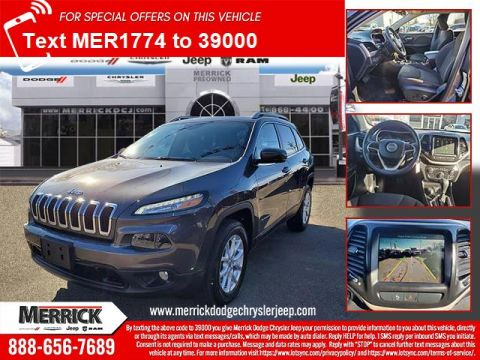 Certified Pre-Owned 2017 Jeep Cherokee Latitude 4x4 Four Wheel Drive Sport Utility