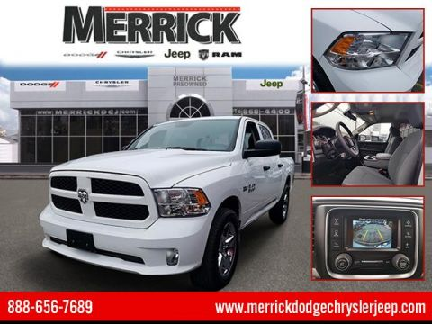 Certified Pre-Owned 2018 Ram 1500 Express 4x4 Crew Cab 5'7 Box